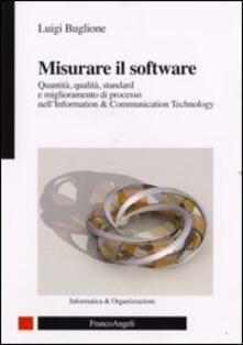 Squillogame.it Misurare il software. Quantità, qualità, standard e miglioramento di processo nell'Information Technology Image