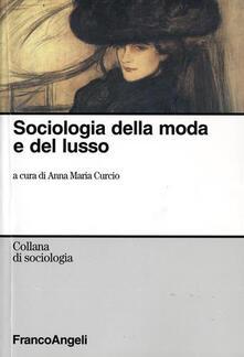 Sociologia della moda e del lusso - copertina