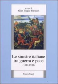 Le sinistre italiane tra guerra e pace (1840-1940) - copertina