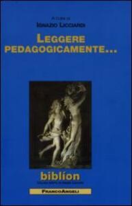 Leggere pedagogicamente