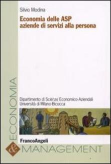 Economia delle ASP aziende di servizi alla persona - Silvio Modina - copertina
