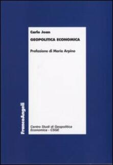 Geopolitica economica - Carlo Jean - copertina