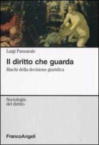 Foto Cover di Il diritto che guarda. Rischi della decisione giuridica, Libro di Luigi Pannarale, edito da Franco Angeli