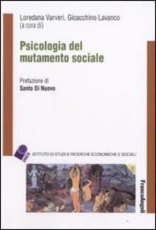 Psicologia del mutamento sociale - copertina