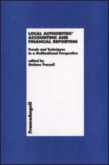 Local Authorities Accounting and Financial Reporting. Trends and Techniques in a Multinational Perspective - copertina