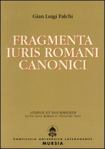 Fragmenta iuris romani canonici