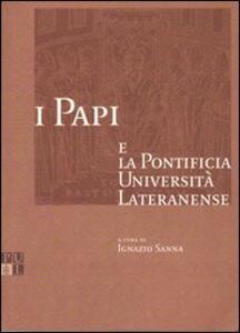I papi e la Pontificia Università Lateranense