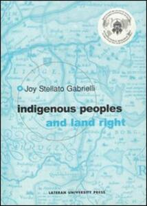 Indigenous people and land right