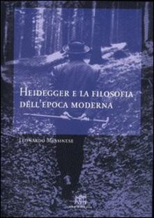 Voluntariadobaleares2014.es Heidegger e la filosofia dell'epoca moderna Image