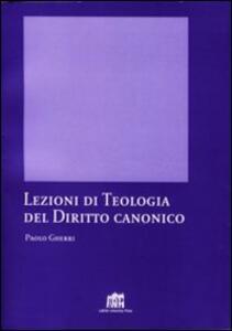 Lezioni di teologia del diritto canonico