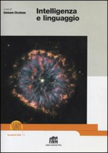 Intelligenza e linguaggio - copertina