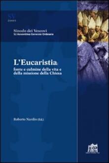 L'  Eucaristia. Fonte e culmine della vita e della missione della Chiesa - copertina