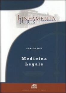 Medicina legale - Enrico Mei - copertina