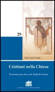 Cristiani nella Chiesa