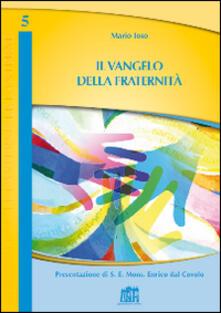 Il Vangelo della fraternità - Mario Toso - copertina