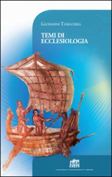 Temi di ecclesiologia - Giovanni Tangorra - copertina