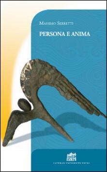 Persona e anima - Massimo Serretti - copertina