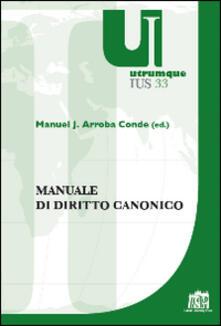Manuale di diritto canonico - copertina