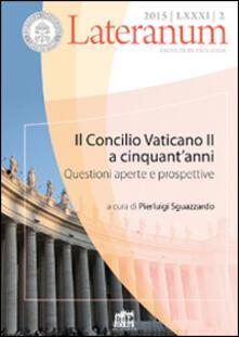 Ipabsantonioabatetrino.it Lateranum (2015). Vol. 2: Il Concilio Vaticano II a cinquant'anni. Questioni aperte e prospettive. Image