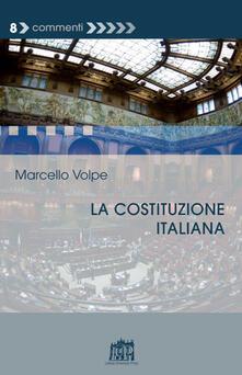La Costituzione italiana - Marcello Volpe - copertina