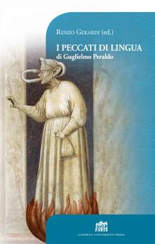 I peccati di lingua di Guglielmo Peraldo - Renzo Gerardi - copertina