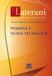 Persona e nuove tecnologie - copertina