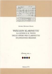 Osteriacasadimare.it Fraulein Klarinette: la genesi e il testo delle opere per clarinetto di Johannes Brahms Image