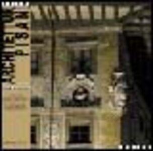 Foto Cover di Architetture pisane (2004). Vol. 2: Piazza dei cavalieri., Libro di  edito da ETS