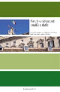 Libro Parchi e istituzioni: novità e rischi Renzo Moschini