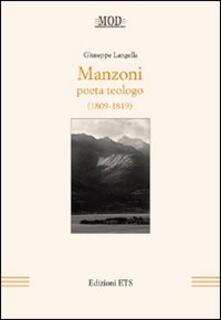 Winniearcher.com Manzoni. Poeta teologo (1809-1819) Image