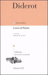 Libro L' antro di Platone. Testo francese a fronte Denis Diderot