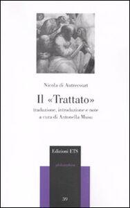 Foto Cover di Il trattato, Libro di Nicola di Autrecourt, edito da ETS