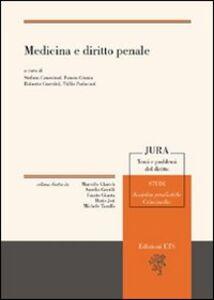 Libro Medicina e diritto penale