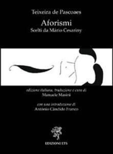 Aforismi scelti da Mário Cesariny
