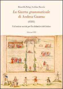 Equilibrifestival.it La guerra grammaticale di Andrea Guarna (1511). Un'antica novità per la didattica del latino Image