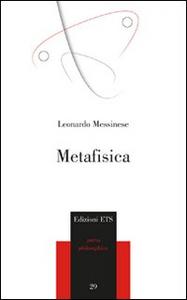Libro Metafisica Leonardo Messinese