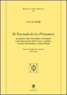 El tractado de los prestamos - Luis de Alcalà - copertina