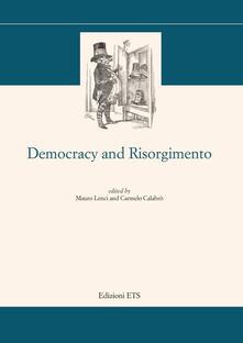 Democracy and risorgimento - copertina