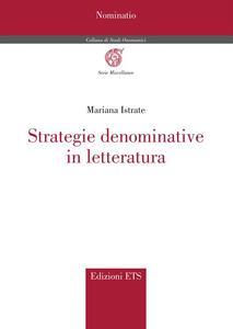 Strategie denominative in letteratura