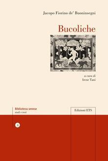 Bucoliche - Jacopo F. De' Buoninsegni - copertina