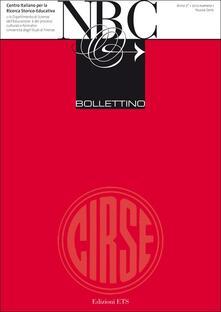 Nuovo bollettino Cirse (2012). Vol. 1 - copertina