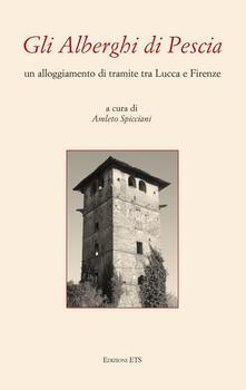 Gli alberghi di Pescia. Un alloggiamento di transito tra Lucca e Firenze - copertina