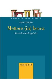 Nicocaradonna.it Mettere (in) bocca. Sei studi semiolinguistici Image