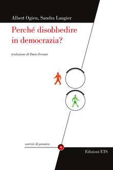 Grandtoureventi.it Perché disobbedire in democrazia? Image