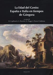 La edad del genio: España e Italia en tiempos de Góngora - copertina