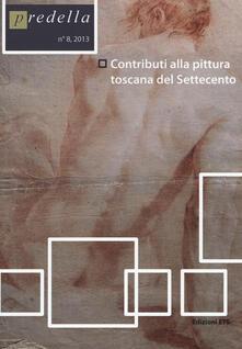 Contributi alla pittura toscana del Settecento - copertina
