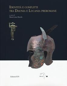Identità e conflitti tra Daunia e Lucania preromane - copertina