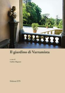 Il giardino di Varramista - copertina