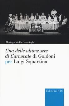 Fondazionesergioperlamusica.it Una delle ultime sere di cCarnovale di Goldoni per Luigi Squarzina Image