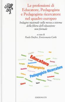Fondazionesergioperlamusica.it Le professioni di educatore, pedagogista e pedagogista ricercatore nel quadro europeo. Indagine nazionale sulla messa a sistema della filiera dell'educazione non formale Image